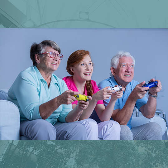 Video exercise games can be good for your mood