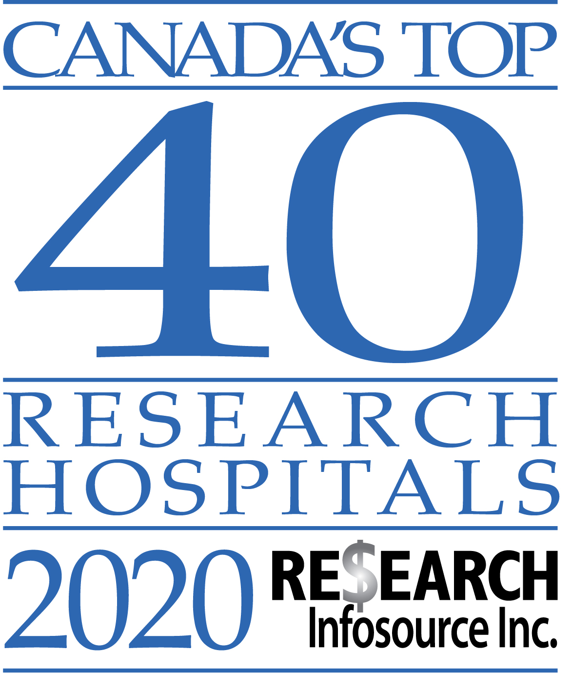 Baycrest maintains its rank as a Top 10 research-intensive hospital in Canada