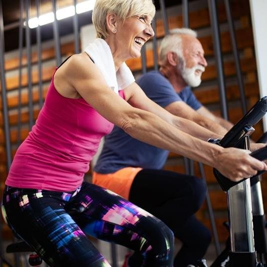 Supporting couples with young onset dementia by working up a sweat