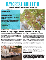Baycrest Bulletin - February 2021