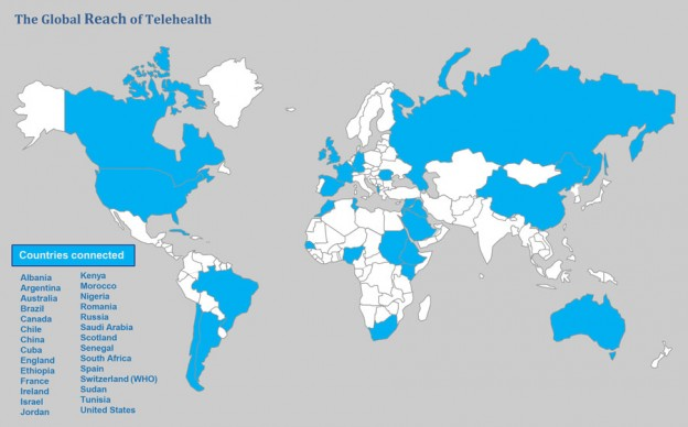 The Global Reach of Telehealth at Baycrest