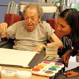 Pursuing artistic passions in long-term care – LRI Internship Series